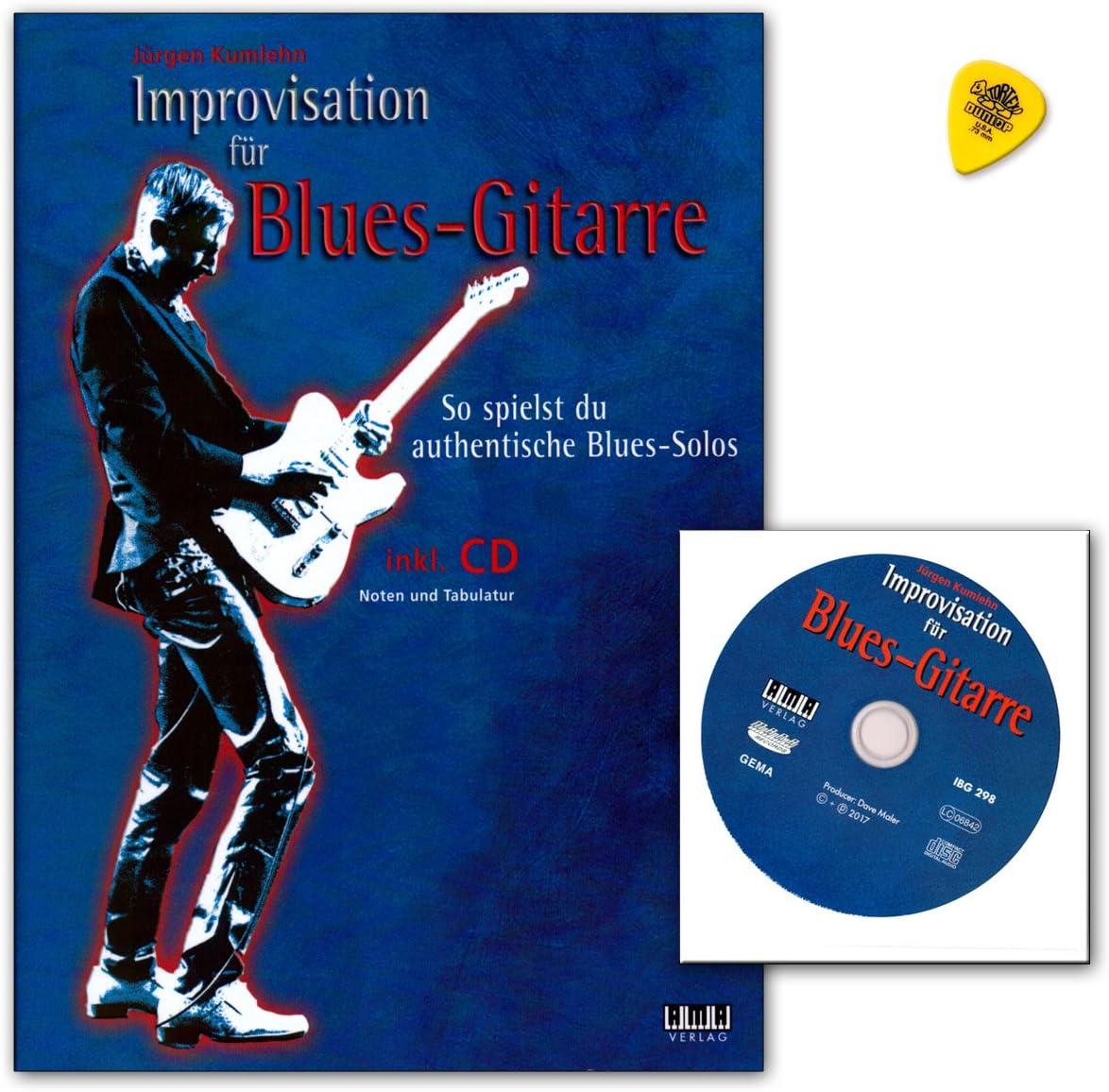 Improvisación para guitarra de blues de Jürgen kumlehn – So jogas ...