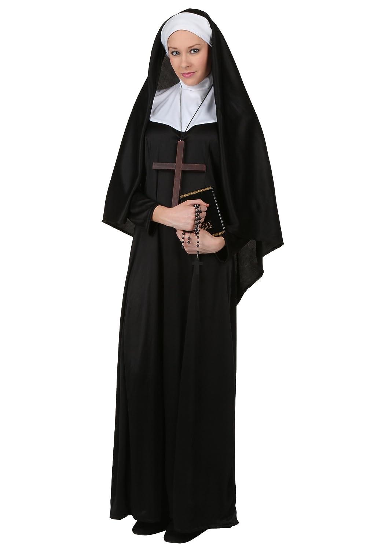 Plus Größe Traditional Nonne Kostüm - 2X