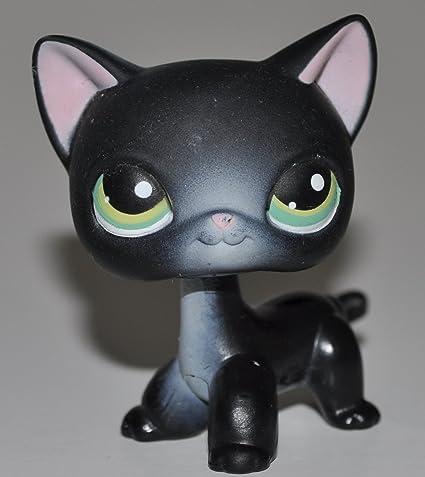 Amazoncom Shorthair 336 Black Green Eyes Littlest Pet Shop