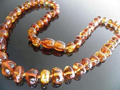 Collana di vera ambra baltica