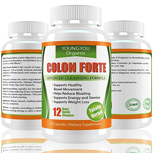 Amazon.com: Colon Cleanser for Body Detox & Weight Loss – 12 Day ...
