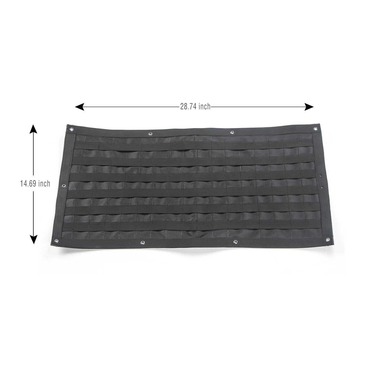 Voodonala 1pc Tailgate Tool Kit Canvas Bag Tool Organizer Pockets for 2007-2018 Jeep Wrangler JK JKU JL JLU 4350407263