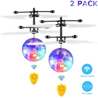 Fansteck 2 Pack Bola voladora, Mini Drone