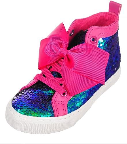 Jojo Siwa Girls' Hi-Top Sneakers - Pink