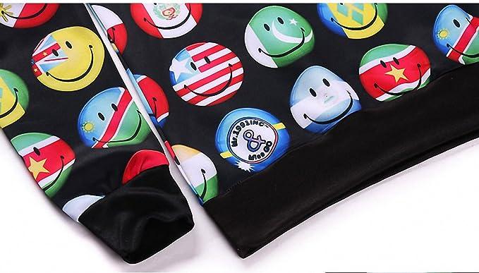 Amazon.com: Crochi Style Cute Sweatshirt with Emoji National Flag Print 3D Sweatshirts Men Graphic Crewneck Sweatshirt Tops Sudaderas Hombre g8016 XL: ...
