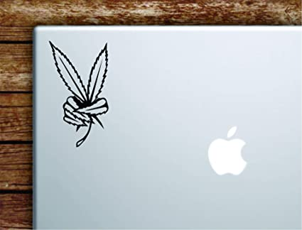 Amazon.com: Boop Decals Weed Leaf Peace Sign Laptop Apple ...