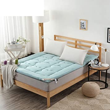 PIFGEDTGVC Colchón térmico/colchón Tatami/colchón Grueso/Pad/colchones Dormitorio Estudiante/Grueso colchón Caliente-C 150 * 200cm(59x79inch): Amazon.es: ...