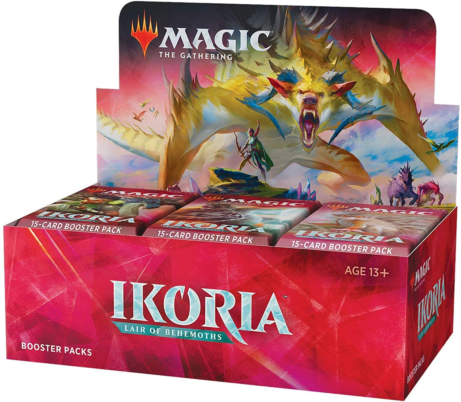 MTG Magic The Gathering Ikoria Lair of Behemoths - Caja de Refuerzo: Amazon.es: Juguetes y juegos