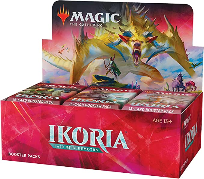 Ikoria Pack Fresh M//NM FOIL Voracious Greatshark MTG Magic