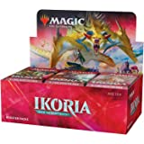 Magic: The Gathering Ikoria: Lair of Behemoths Draft Booster Box | 36 Draft Booster Packs (540 Cards + Box Topper) | Factory Sealed