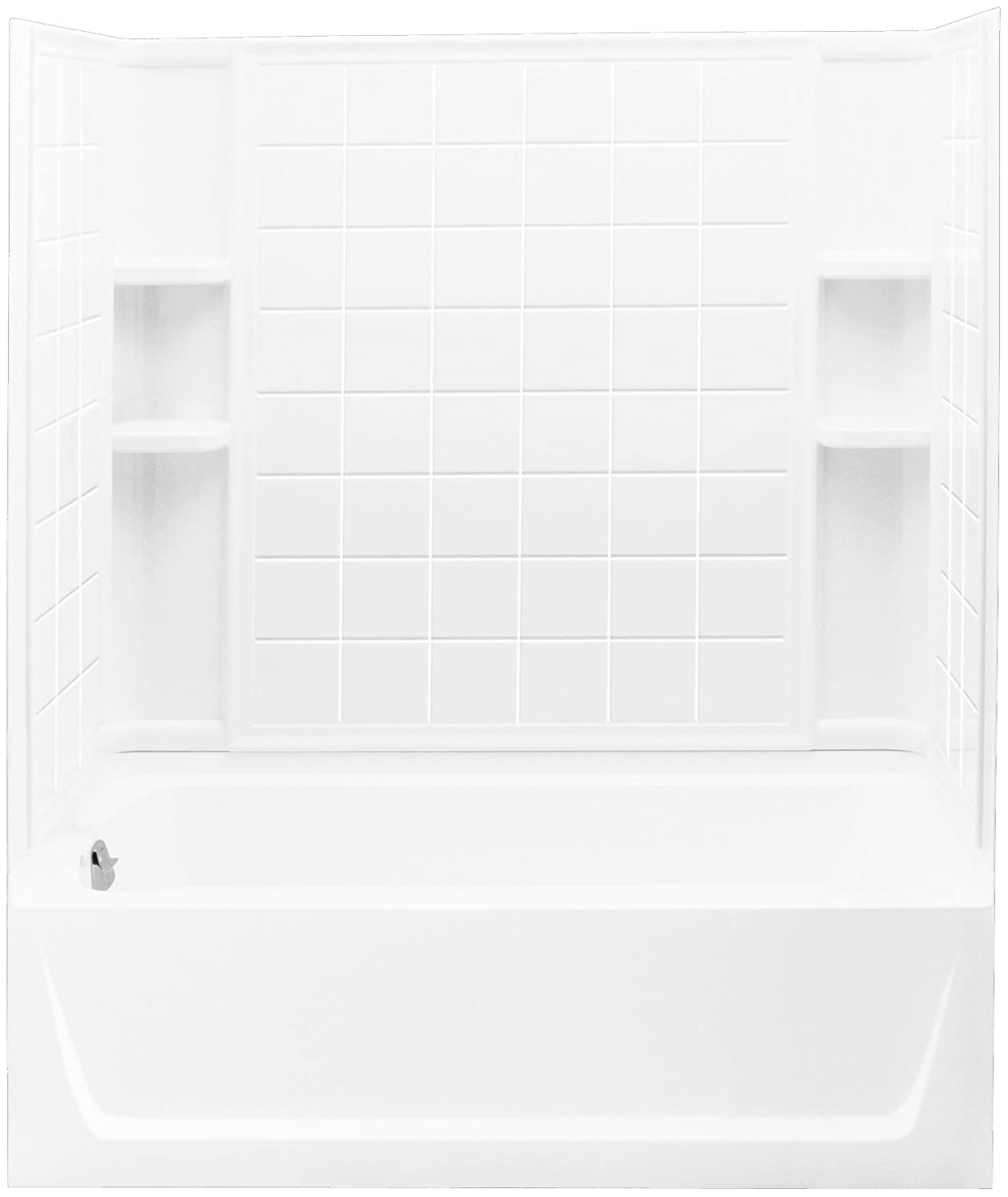 Sterling Plumbing 71120110-0 Ensemble Bath and Shower Kit, 60-Inch x ...