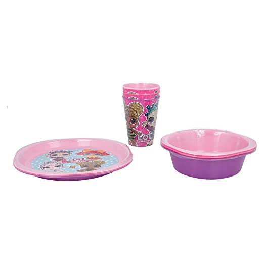 SET DE CUMPLEAÑOS (VASO+CUENCO+PLATO) | LOL SURPRISE: Amazon ...