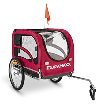 Oneconcept DURAMAXX King Rex Remolque para Bicicletas (Capacidad 250 litros, Máx. 40 kg