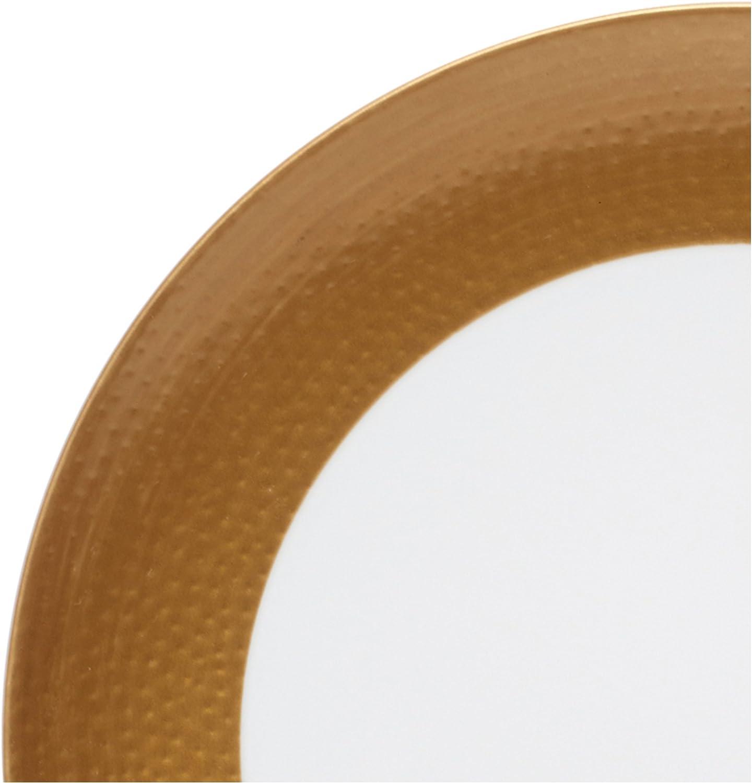 Mikasa Hammersmith Saucer 6.75 Gold
