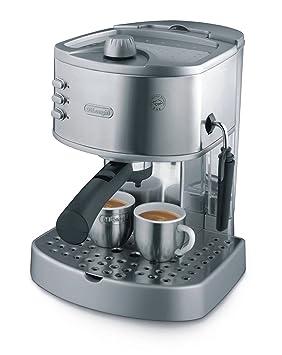 Delonghi Manual Espresso Machine Ec 330s 1100w Silver Certified Refurbished