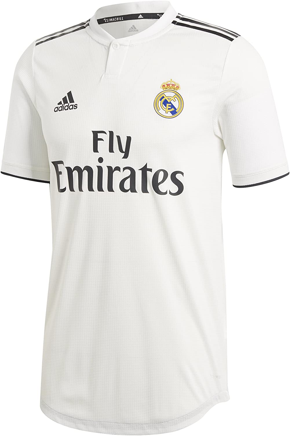 adidas 2018-2019 Real Madrid Authentic Home Football Soccer T-Shirt Jersey