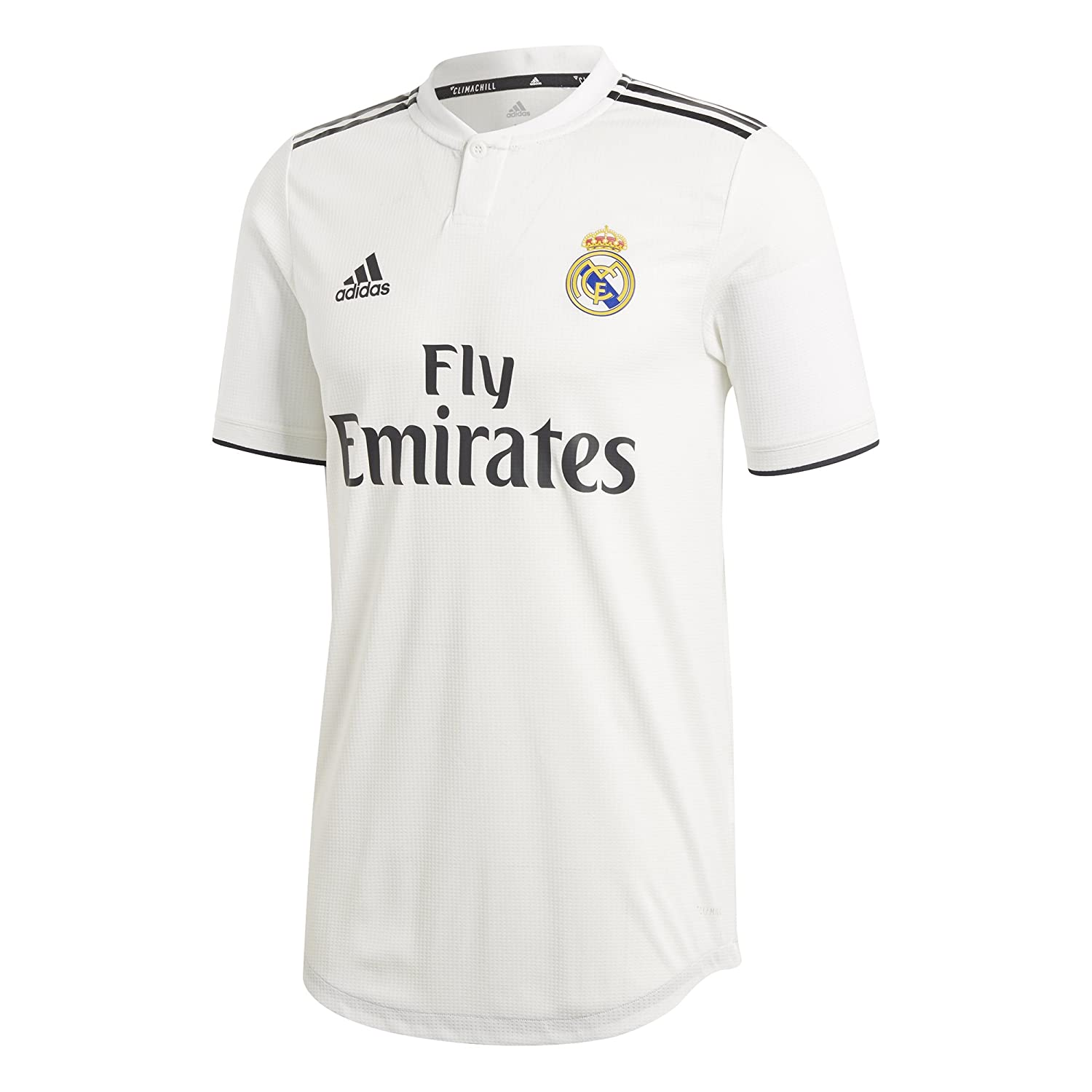 super popular 09b3a b5783 Amazon.com : adidas 2018-2019 Real Madrid Authentic Home ...