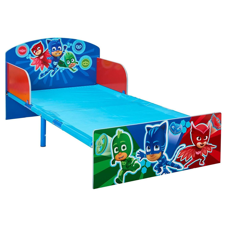 PJ MASKS Toddler Bed with Foam Mattress