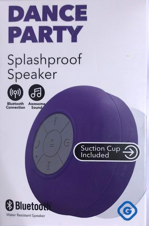 DAマスター - GEMS Bluetoothシャワースピーカー 吸盤付き パープル B07QQNT9Z8