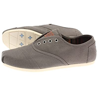 TOMS Mens Cordones Taupe Waxed Twill 005045A12-Taupe 7