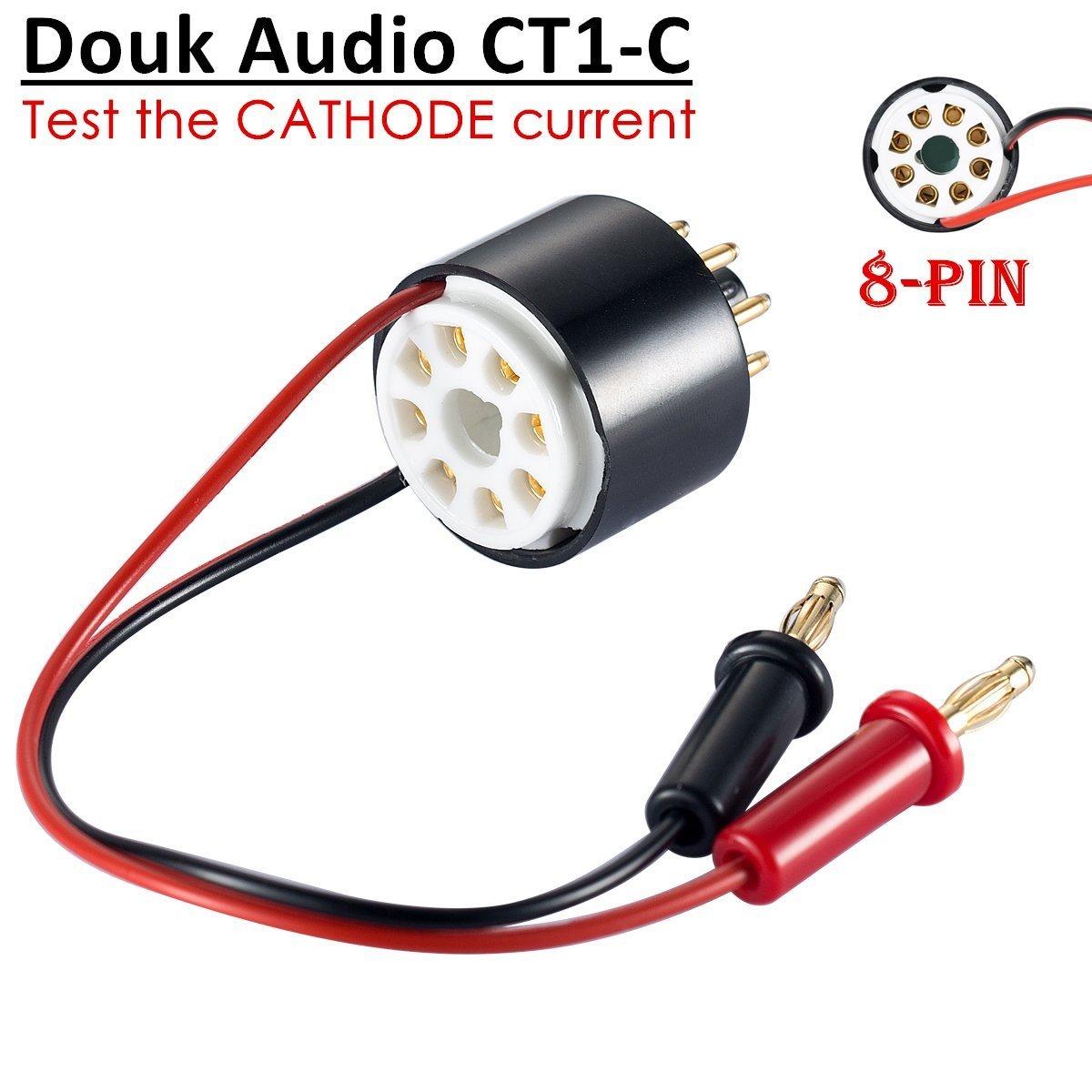 nobsound Vacuum Tube Amp Amplifier Plate Bias Current Probe Tester 8Pin Socket for EL34, gt-kt88-sv, 6L6, 6V6, gt-5881-c, 6550, kt66, KT100, kt120, 7027