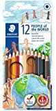 STAEDTLER People of the World - Multicoloured, Pack of 12