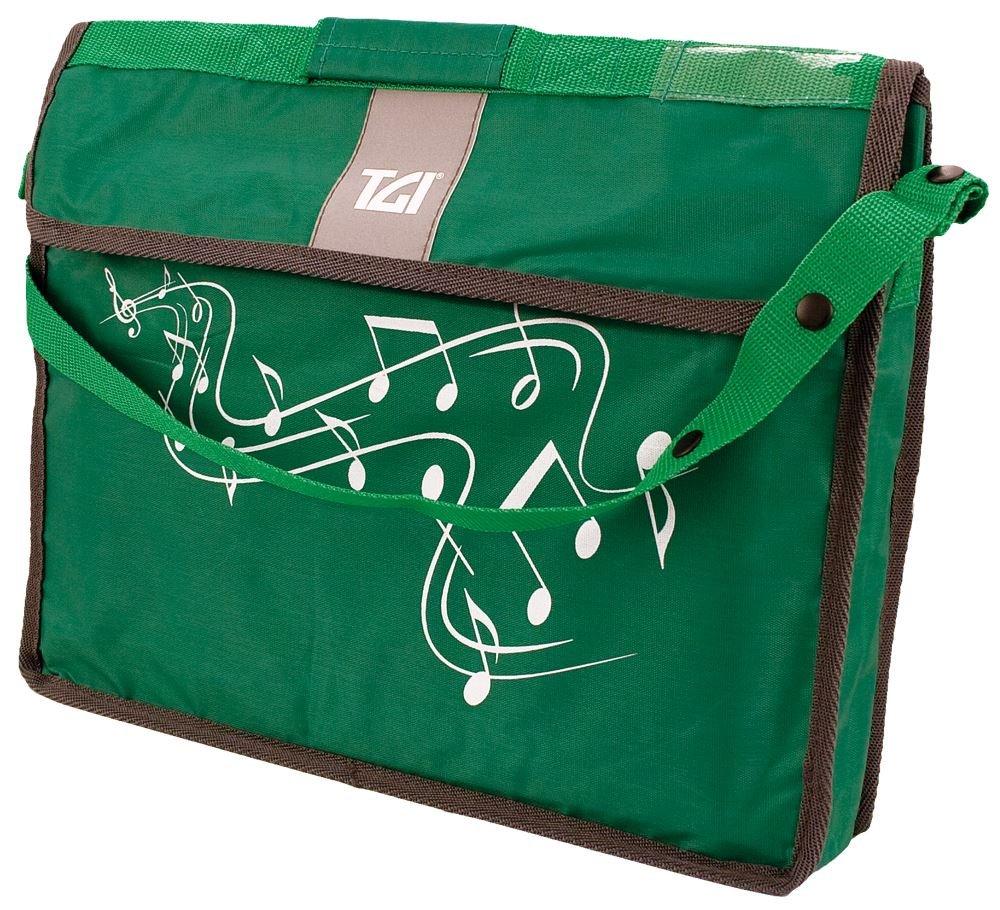 TGI TGMC2G Sheet Music Carrier Bag Green