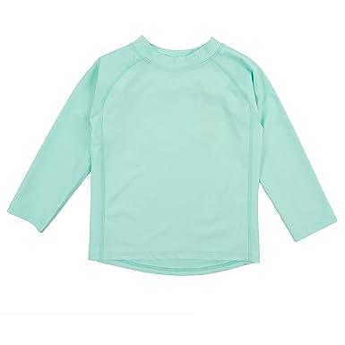 6181ec1d0b Amazon.com: Leveret Long Sleeve Baby Boys Girls Rash Guard Sun ...