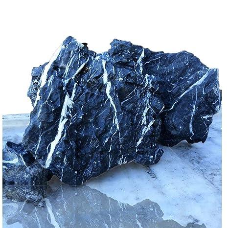 Tikwisdom 3,5 kg piedra de dragón para acuario rock Deco crea un increíble paisaje