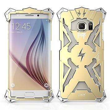 DDJ Étui pour Samsung S6 Edge, Thor Iron Man Coque en aluminium pour Samsung  Galaxy 487df791af8