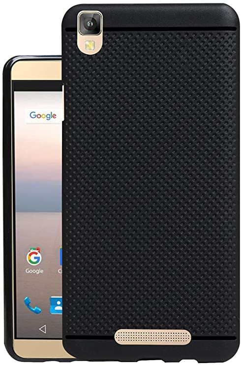 info for ff3f2 41c04 Jkobi® 360* Protection Dotted Designed Soft Rubberised Back Case Cover for  Panasonic Eluga A2 -Black