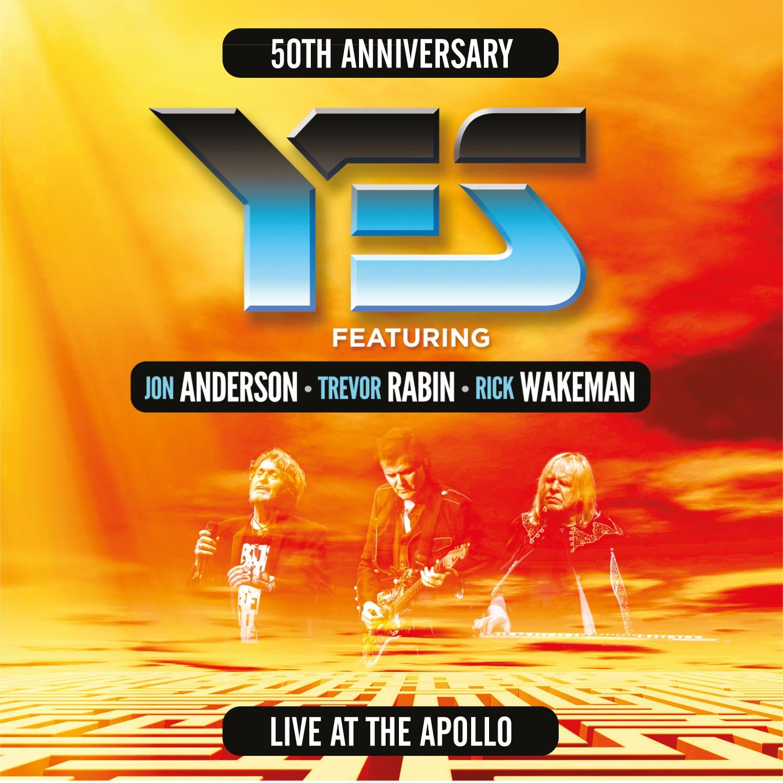 CD : Yes - Yes Live At The Apollo (2PC)