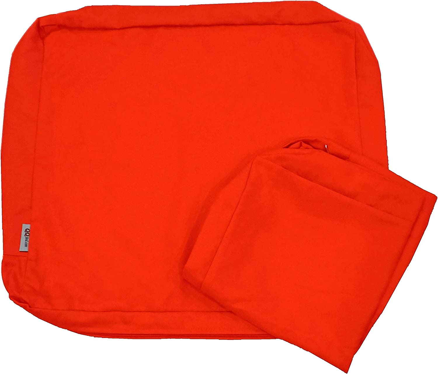 Qqbed 4 Pack Outdoor Patio Chair Washable Cushion Pillow Seat Covers Extra Large 24 X22 X4 Replacement Covers Only 24 X22 X4 4 Pack Tango Kitchen Dining