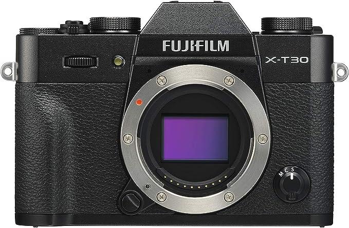 Amazon.com : Fujifilm X-T30 Mirrorless Digital Camera, Black (Body Only) : Camera & Photo