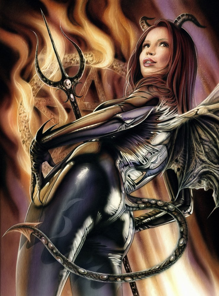 Join erotic woman warrior fantasy art
