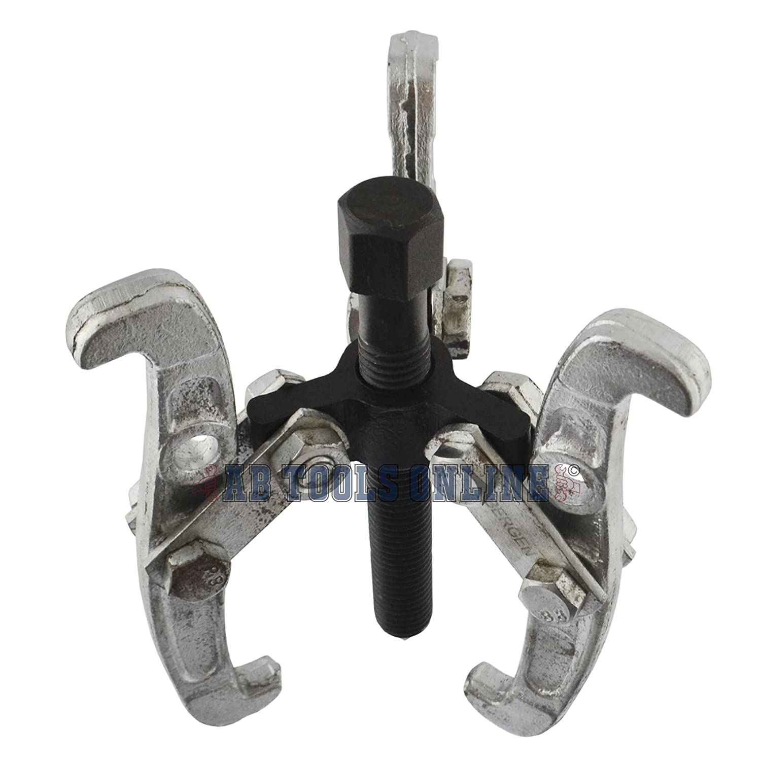 AB Tools-US Pro 4 100mm Gear//Hub Bearing Puller 3 Leg Internal External Reversible AT498