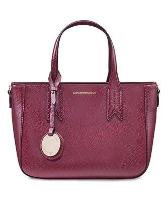 b0692da391ec Emporio Armani Twin Handle Femme Handbag Noir  Amazon.fr  Vêtements et  accessoires