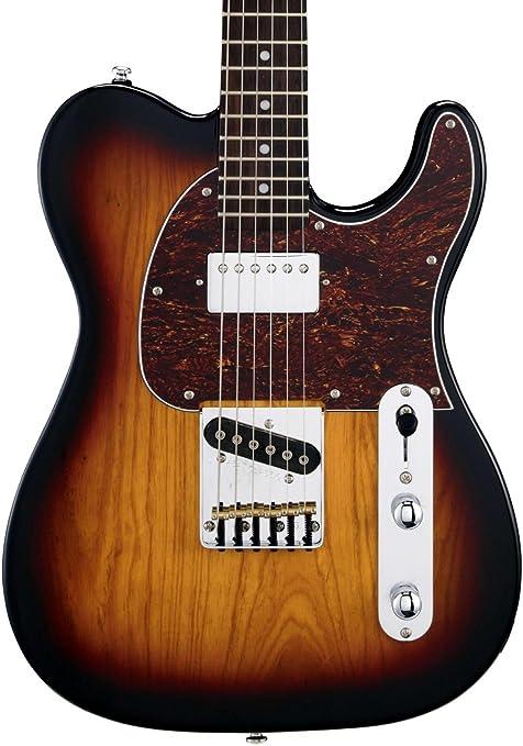 G & L Tribute Series asat Classic bluesboy Guitarra Eléctrica (3 tonos Sunburst)