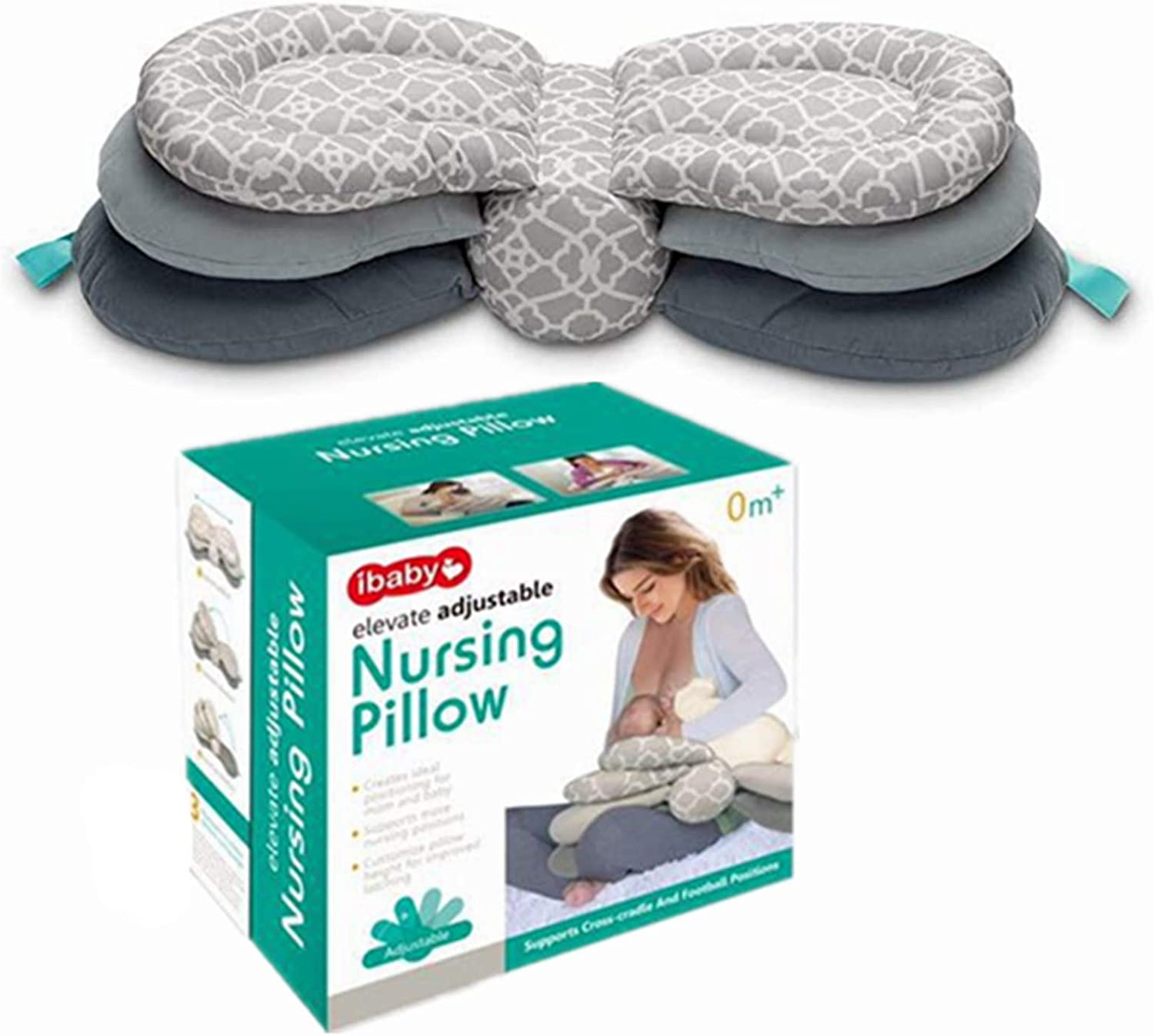 nursing pillow and position breastfeeding baby elevate adjustable newborn support cushion adjustable baby protection pillow pillow cover 100