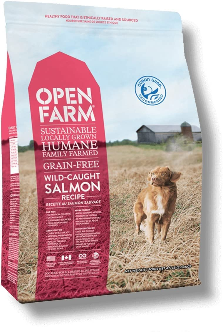 Open Farm Wild Caught Salmon Grain Free Dog Food 24lb