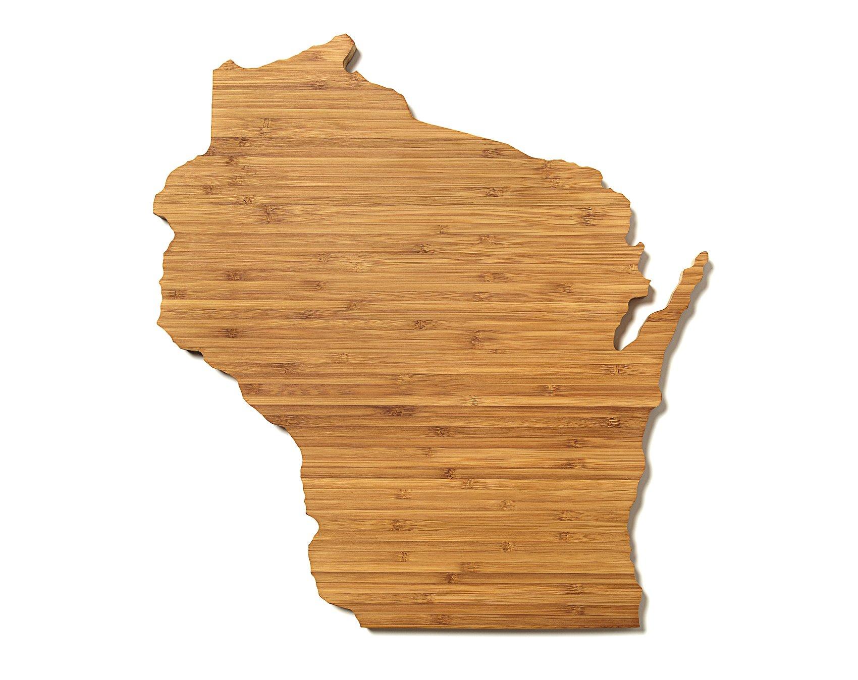 AHeirloom State of Wisconsin Cutting Board