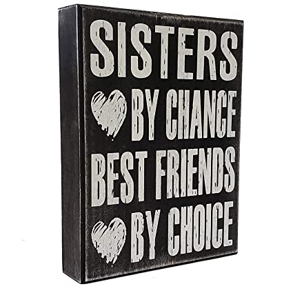Sister Gifts From Sign Sisters By Chance Best Friends Choice Sentimental
