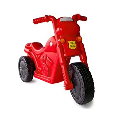 The Piki Piki Bike | Durable & Easy To Ride Toddler Bike, Made In The USA (Red): Toys & Games