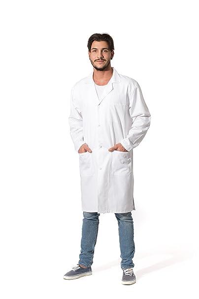 ZOLLNER Bata de Laboratorio Hombre, algodón, Blanca, Tallas de 44 a 60, 140: Amazon.es: Ropa y accesorios