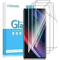GEEMEE Compatibel met OPPO Find X3 Neo 5G (6.5 inch) Screen Protector, 3 Pack HD Clear Flexibele TPU Film No-Bubble High…