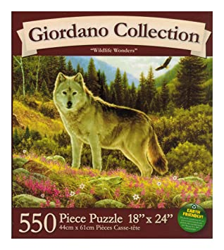Giordano Collection - Wildlife Wonders - 550 Pc Puzzle by Karmin by Karmin