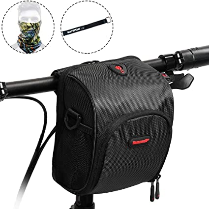 Amazon.com: MattiSam Small Bike Handlebar Bag - It Can ...
