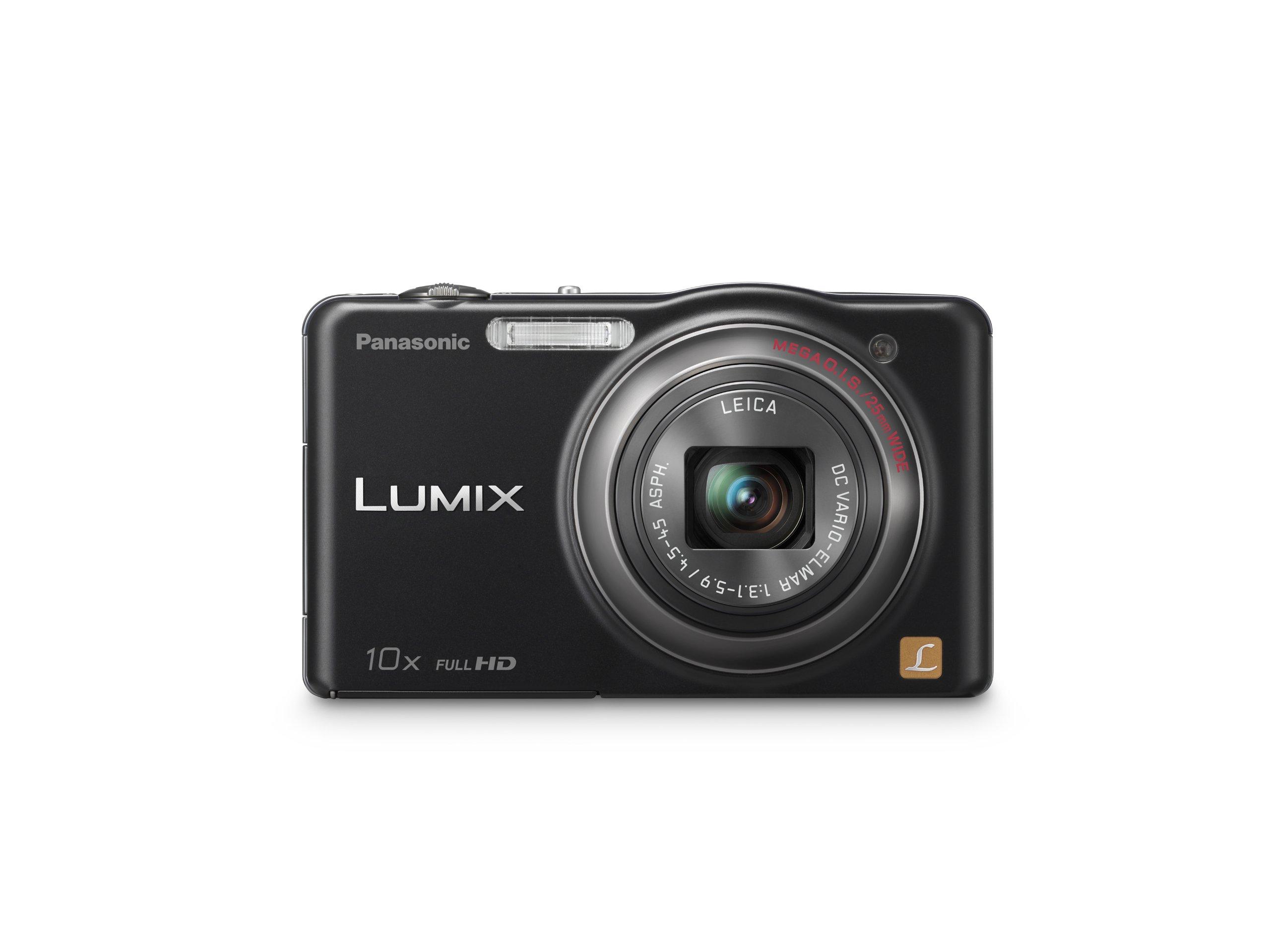 Panasonic Lumix SZ7 14.1 MP High Sensitivity MOS Digital Camera with 10x Optical Zoom (Black)