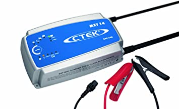 CTEK 56-734 Cargador de baterías MXT 14 EU (24V), Negro ...