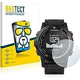 BROTECT AirGlass Protector Pantalla Cristal Flexible Transparente para Garmin fenix 2 Protector Cristal Vidrio - Extra-Duro, Ultra-Ligero, Ultra-Claro